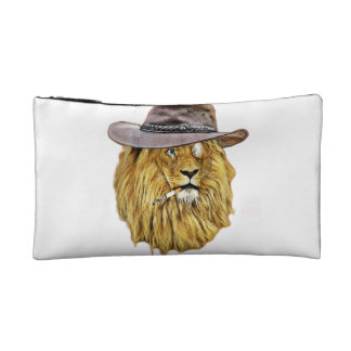 Cute and Funny Lion Makeup Bags
