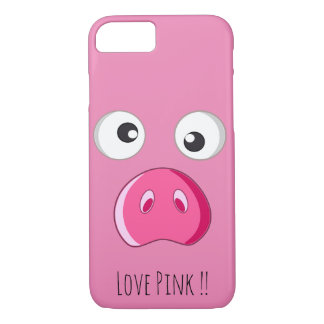 Cute and funny pink lover iPhone 8/7 case