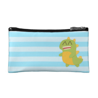 Cute and happy Dinosaur for Kids Cosmetic Bag