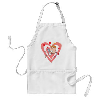 Cute and Loving Cupid Angel Standard Apron