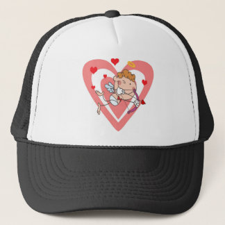 Cute and Loving Cupid Angel Trucker Hat