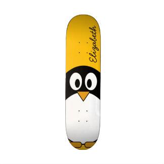 Cute and Modern Cartoon Penguin 20 Cm Skateboard Deck