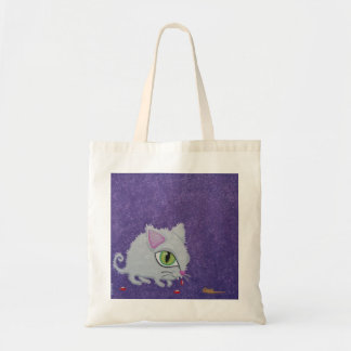 Cute and quirky Dangerous Creature tote bag