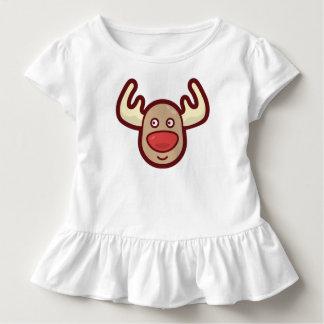 Cute and Simple Rudolf Reindeer | Ruffle Tee