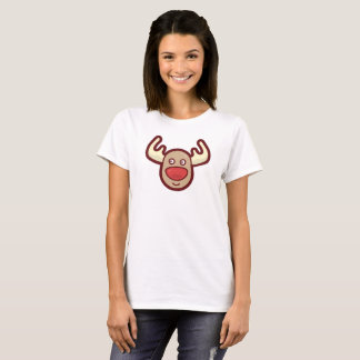 Cute and Simple Rudolf Reindeer   Shirt
