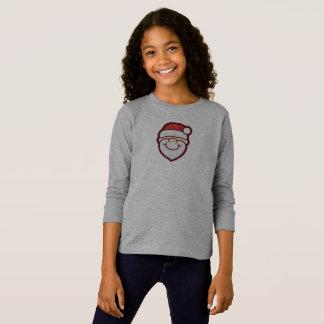 Cute and Simple Santa Claus   Sleeve Shirt