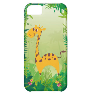 Cute and Sweet Giraffe Cover For iPhone 5C
