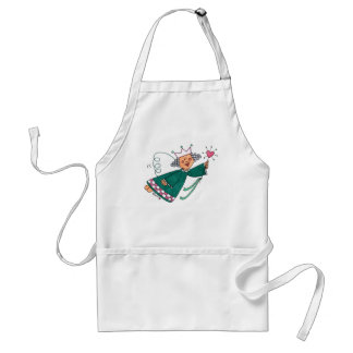 Cute and Whimsical Fairy Godmother White Apron