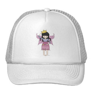 Cute and Whimsical Little Fairy Princess Girl Trucker Hat