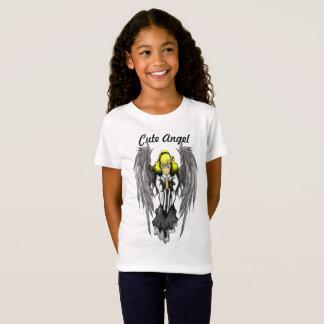 Cute Angel Girls' Fine Jersey T-Shirt