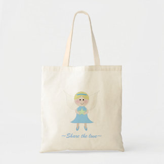 Cute Angel~Share the love~Tote Budget Tote Bag