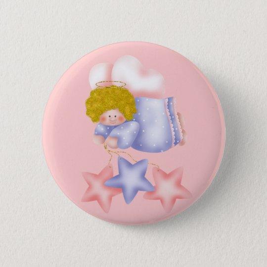 Cute Angel Star 1 6 Cm Round Badge