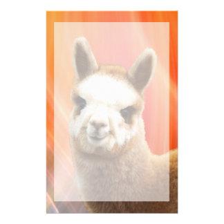 Cute Animal Alpaca Stationery
