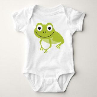 Cute Animal Baby Smiling Frog Baby Bodysuit