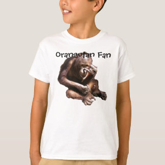 Cute Animal Lover Orangutan T-Shirt