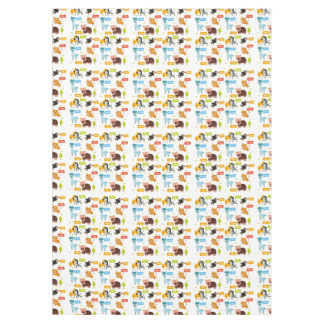 Cute Animals Kids Pattern Tablecloth