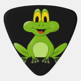 Cute animated Frog background Plectrum