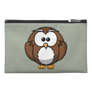 Cute Animated Owl Travel Accessories Bag