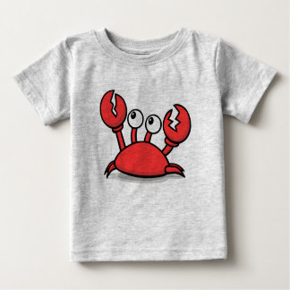 cute animated red crab baby T-Shirt