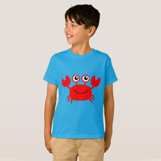 cute animated red crab T-Shirt