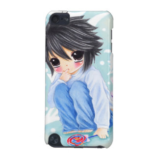 Cute anime boy with lollipop iPod touch 5G covers