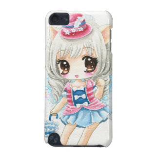Cute anime cat girl iPod touch 5G covers
