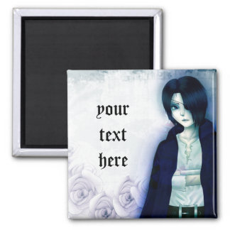 Cute anime emo boy magnet for your text