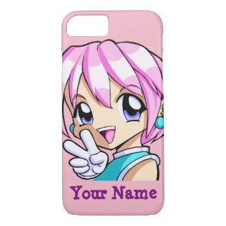 Cute Anime Girl iPhone 8/7 Case