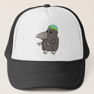 Cute Anime Mole Trucker Hat