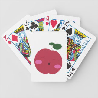 🍎Cute Apple ~ かわいいりんご. Bicycle Playing Cards