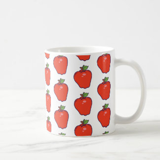 Cute Apple Pattern Coffee Mug