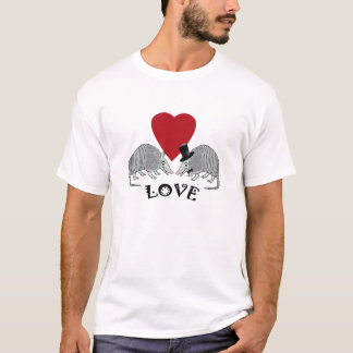 Cute armadillo love T-Shirt