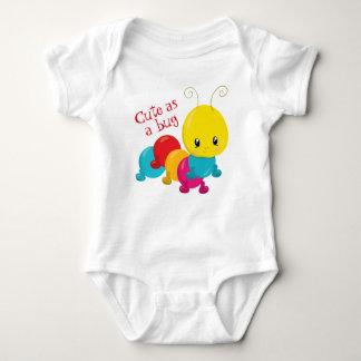 Cute as a Bug Baby Baby Bodysuit
