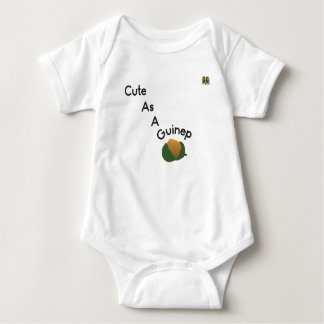 """""""Cute as a Guinep"""" Baby Bodysuit"""