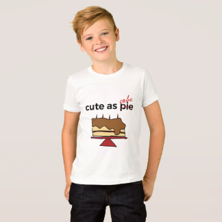 Cute as Cake Kids Shirt
