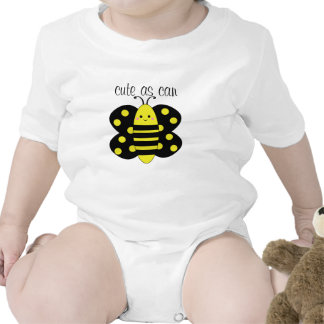 Cute As Can Bee Polka Dot Baby Tshirt