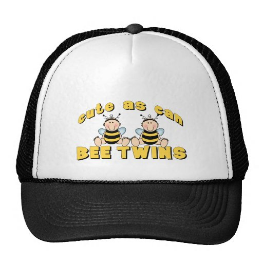 Cute As Can BEE Twins Mesh Hat
