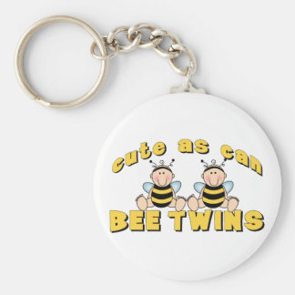 Cute As Can BEE Twins Key Chains