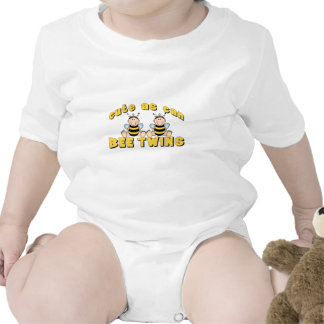 Cute As Can BEE Twins Tees