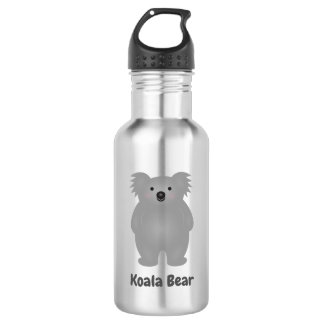 Cute Australia Baby Koala Bear Add Your Name 532 Ml Water Bottle