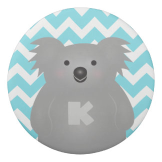 Cute Australia Baby Koala Bear Monogram Eraser