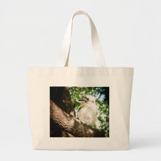Cute Australia Kookaburra Large Tote Bag