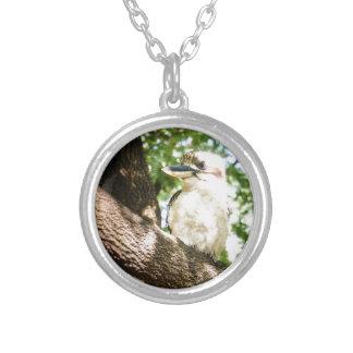 Cute Australia Kookaburra Silver Plated Necklace