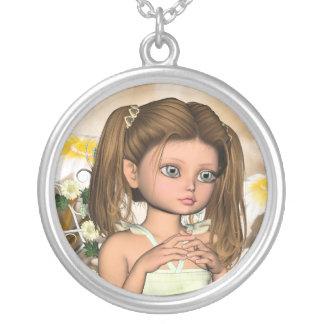 Cute Autumn Fairy Necklace