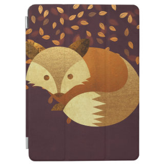 Cute Autumn Fox iPad Air Cover