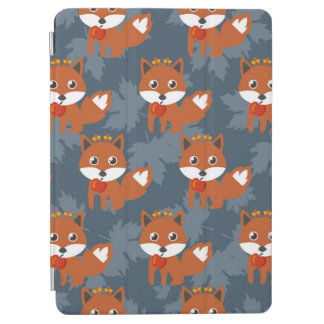 Cute Autumn Fox Pattern iPad Air Cover