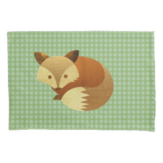 Cute Autumn Fox Pillowcase