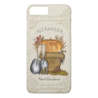 Cute Autumn Gardening iPhone 8 Plus/7 Plus Case