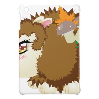 Cute Autumn Hedgehog 2 iPad Mini Covers