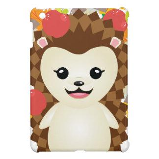Cute Autumn Hedgehog iPad Mini Cover